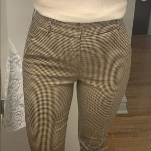 Plaid Zara trousers